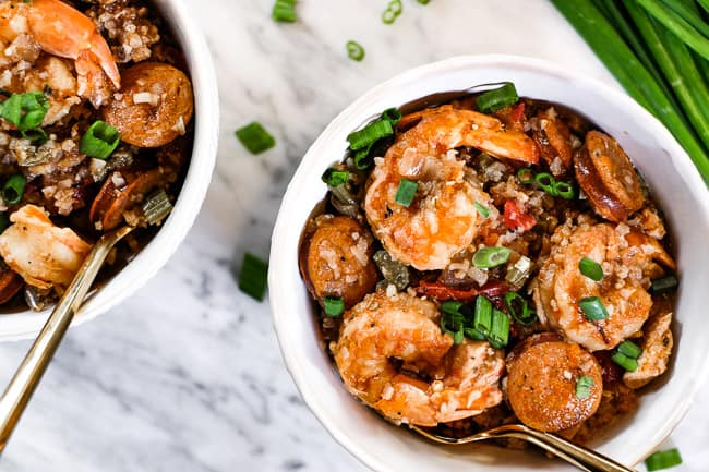 Shrimp Jambalaya Whole30