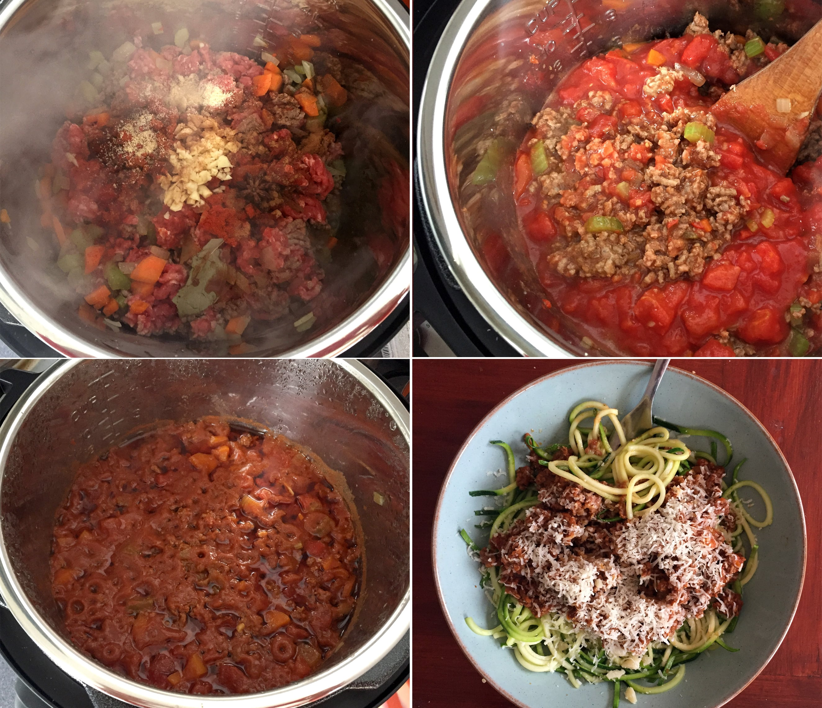 How to make Instant Pot Bolognese sauce steps 2