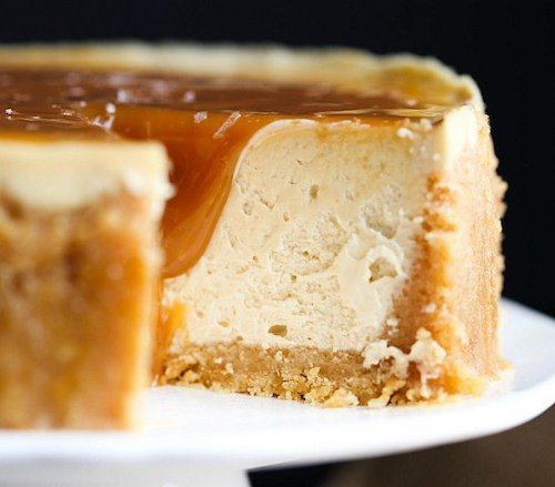 Salted Caramel Instant Pot Cheesecake