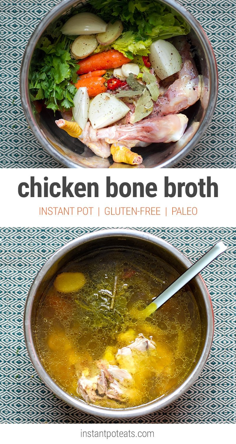 Instant Pot Bone Broth (Pressure Cooker Recipe)