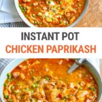 Instant Pot Chicken Paprikash (Chicken Paprikash (Papriaks Csirke)