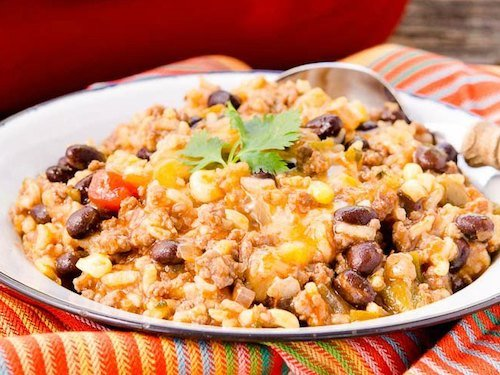 Mexican Beef Rice