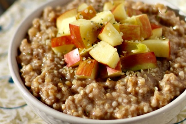 Instant Pot Vegan Oatmeal