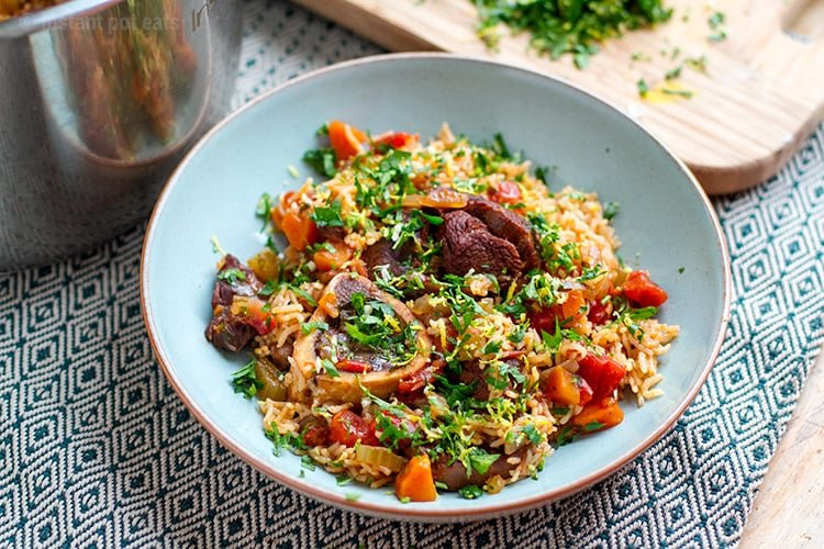 One-Pot Osso Buco Rice