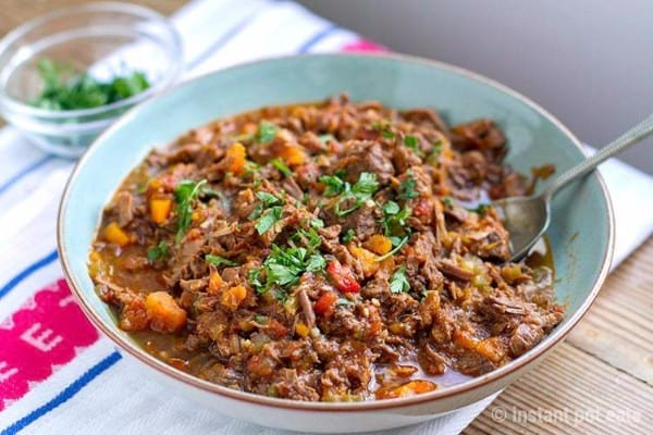 Whole30 Instant Pot Beef Ragu
