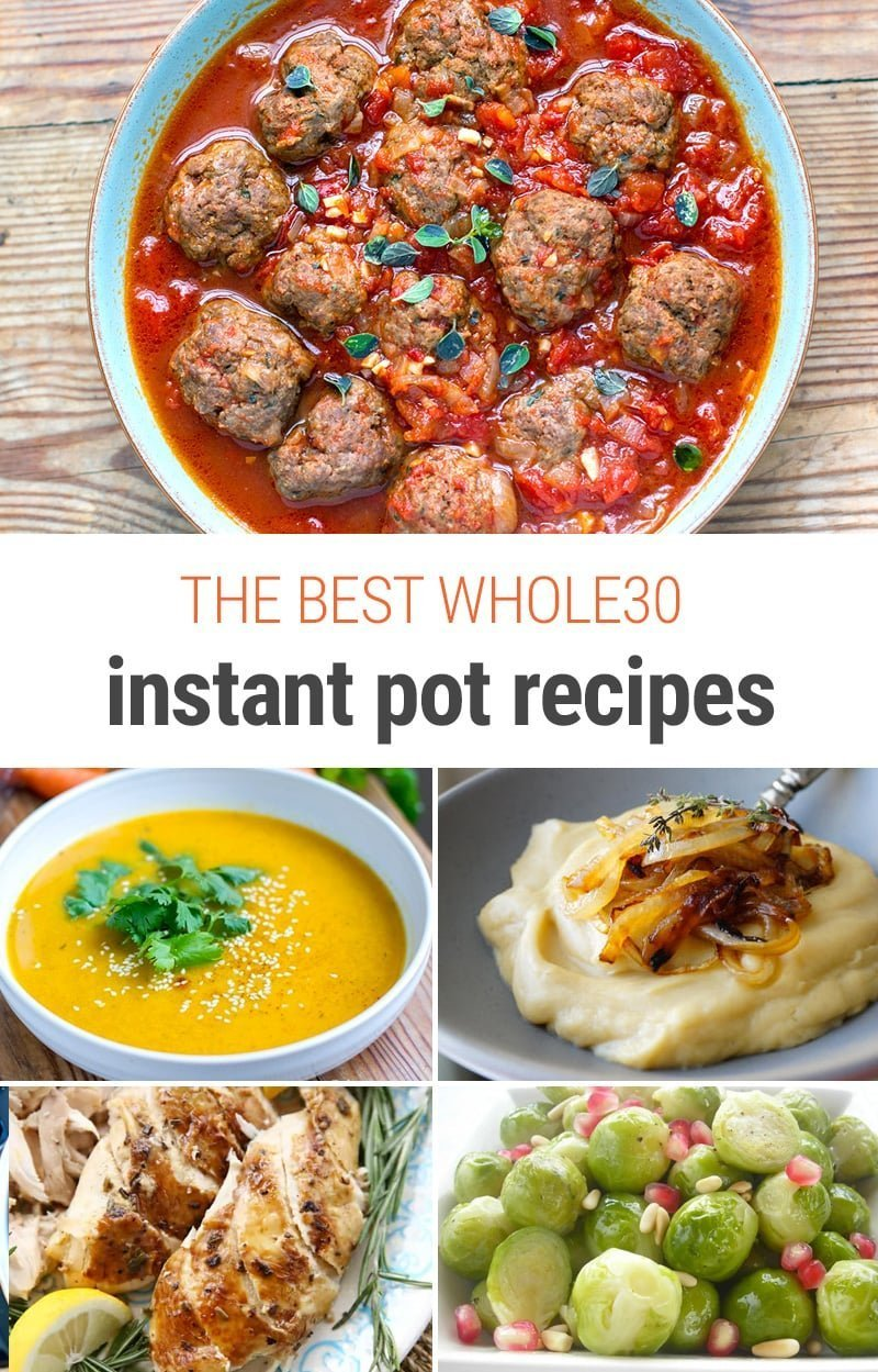 The Best Whole30 Instant Pot Recipes