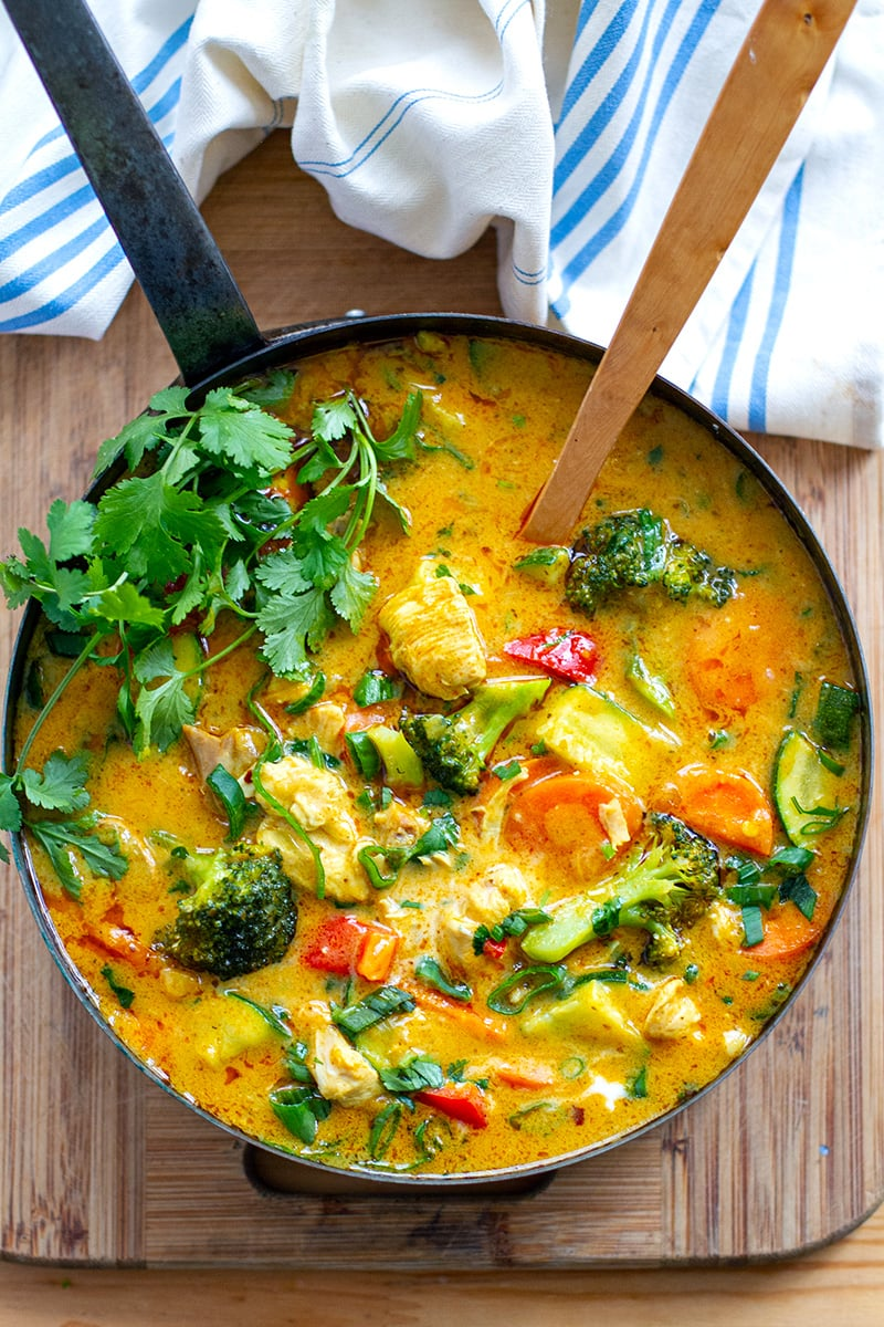Instant Pot Thai Chicken Curry