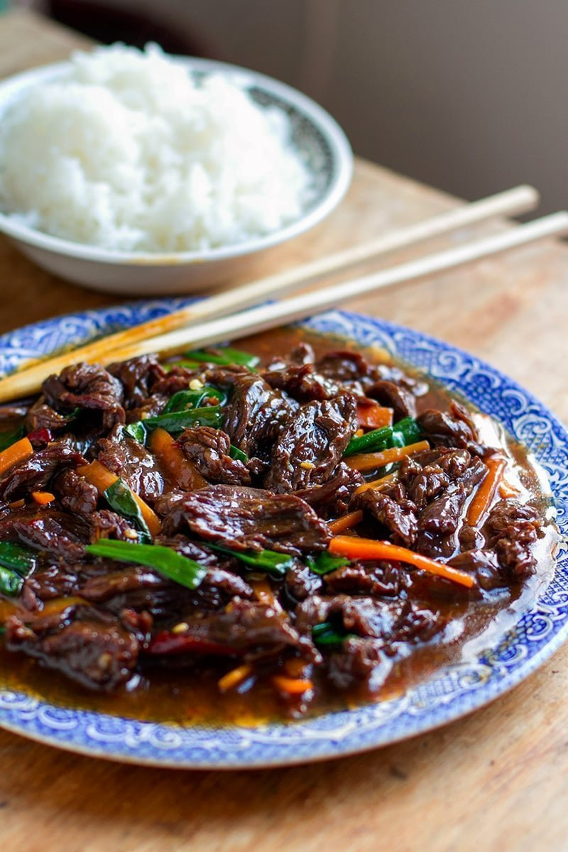 Instant Pot Mongolian Beef (Gluten-Free, Low-Carb, Paleo-ish)