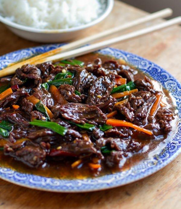 Instant Pot Mongolian Beef Healthy Version Recipe
