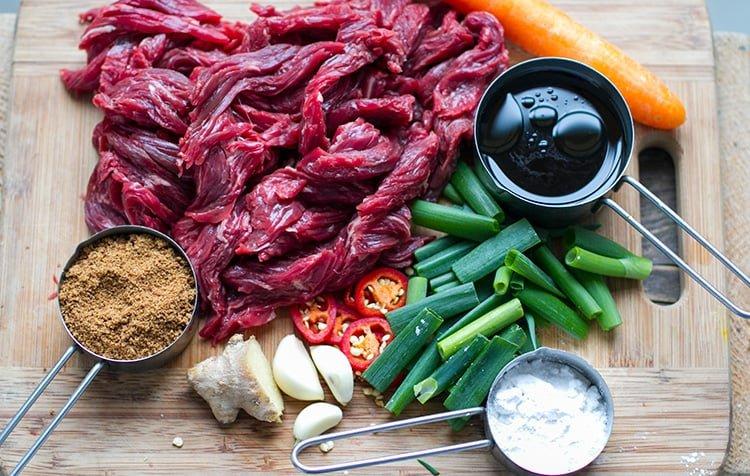 Sliced Skirt Steak For Instant Pot Mongolian Beef