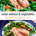 Steamed Instant Pot Salmon & Vegetables