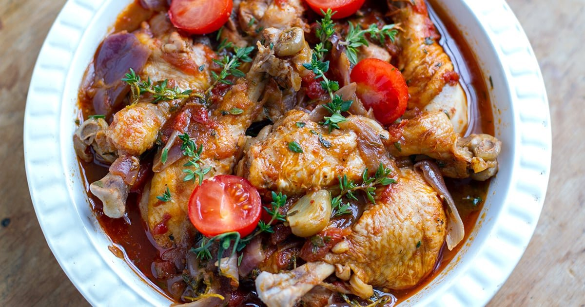 Italian chicken drumsticks with garlic thyme instant for Chicken recipes for the instant pot