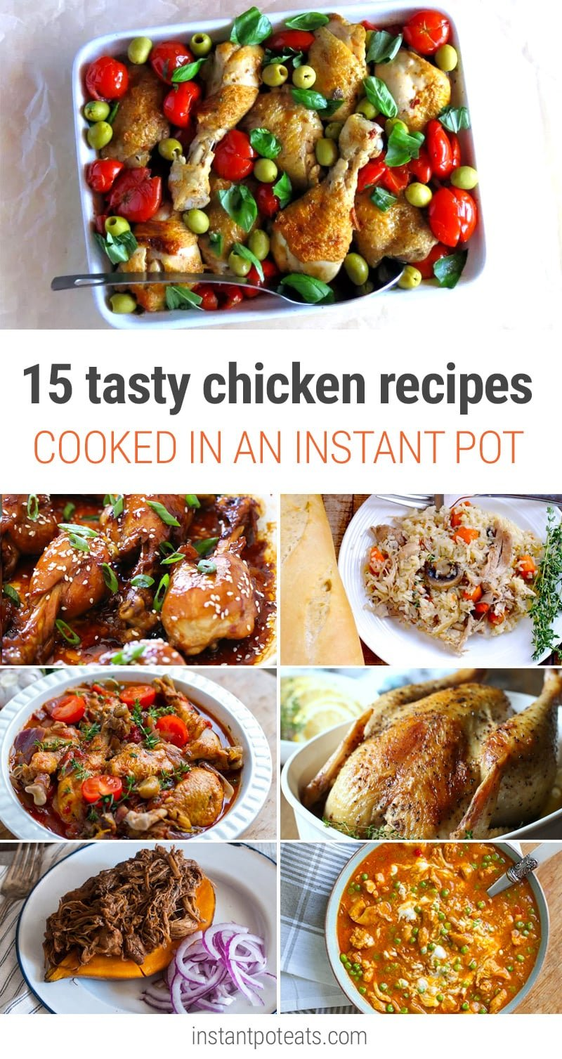 15 MOUTHWATERING INSTANT POT CHICKEN RECIPES FOR EVERY OCCASION
