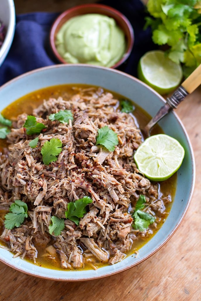 Istant Pot Pulled Pork (Barbacoa Inspired Recipe)