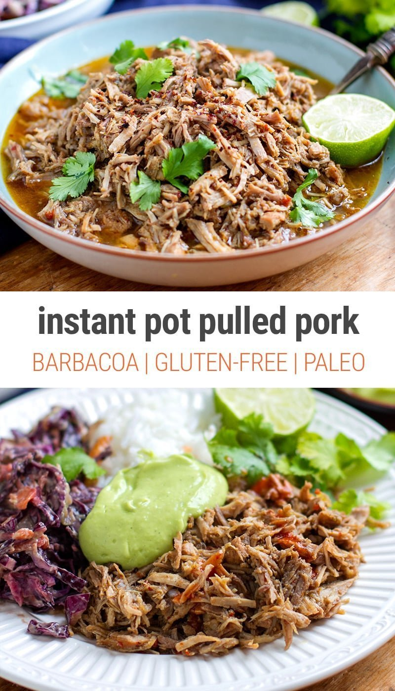 Barbacoa Pulled Pork - Instant Pot Recipe