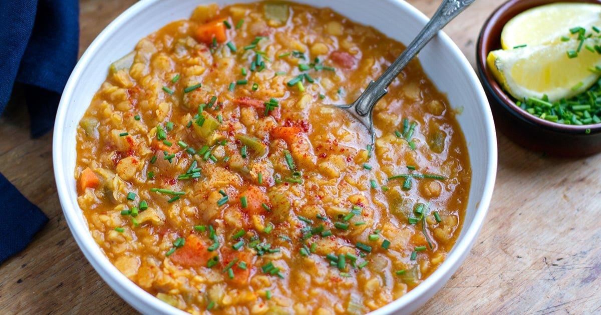 Healthy Instant Pot Split Pea Soup