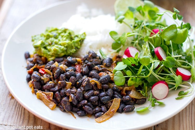 Pressure Cooker Black Beans Recipe