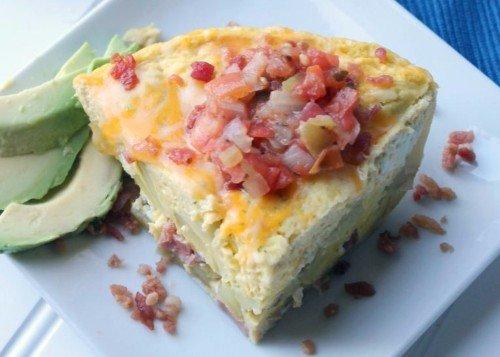 Instant Pot Ham & Egg Casserole