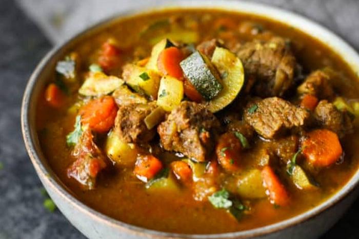 Instant Pot Indian Lamb Curry