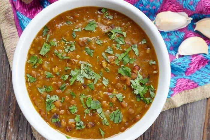 Instant Pot Indian recipes - Lentil Dal
