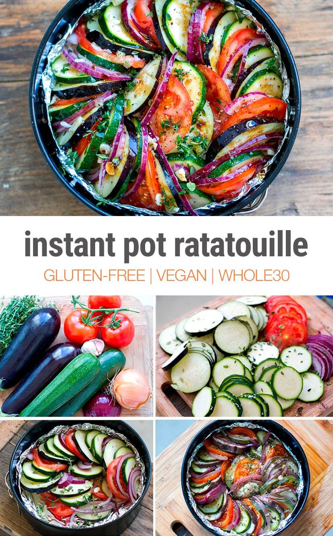 Ratatouille In Instant Pot