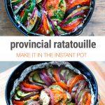 Healthy Instant Pot Ratatouille - Braised Vegetables