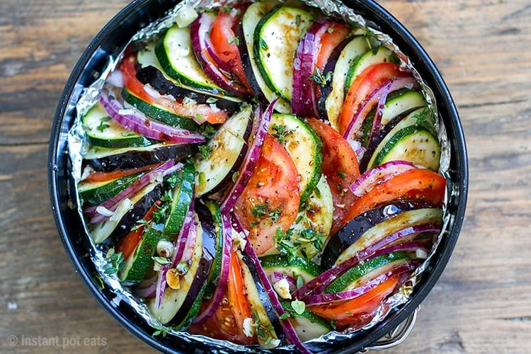 Instant Pot Ratatouille Recipe