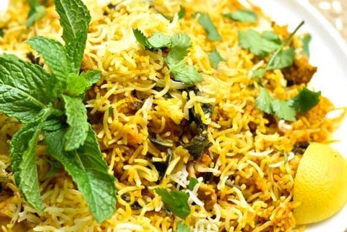 Instant Pot Rice Biryani