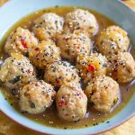 Instant Pot Turkey meatballs
