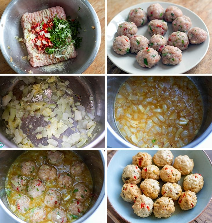 How to make Instant Pot turkey meatballs