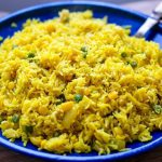 Instant Pot Yellow Rice With Corn & Peas