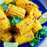 Cajun Butter & Lime Corn On The Cob (Instant Pot Recipe)