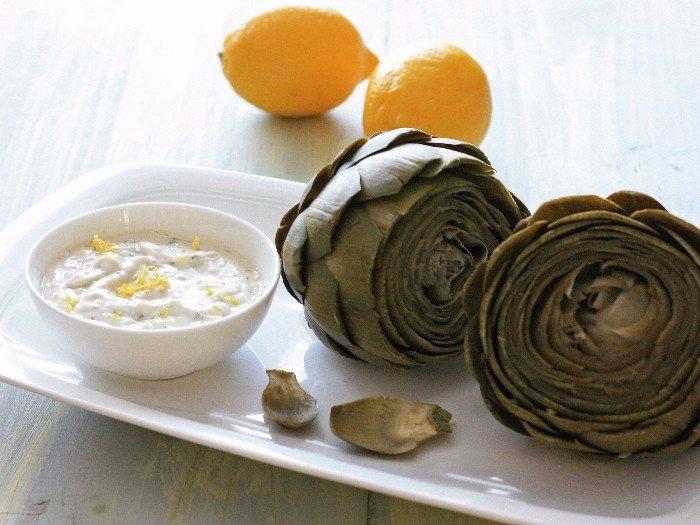 Instant Pot artichoke: dips and sauces