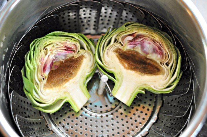 How to make artichokes in Instant Pot