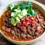 Instant Pot Chili With Beef & Chorizo