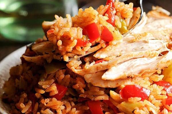 Cajun Instant Pot Chicken and Rice