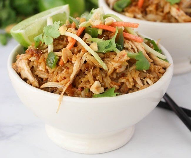 Thai Chicken Rice Bowls