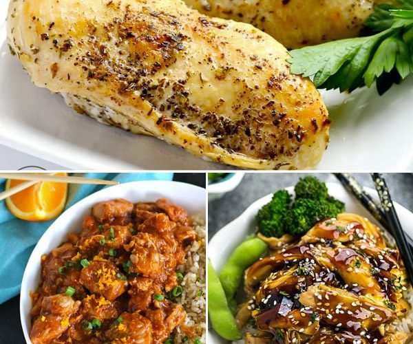 20 Tasty Instant Pot Recipes Using Chicken Breast