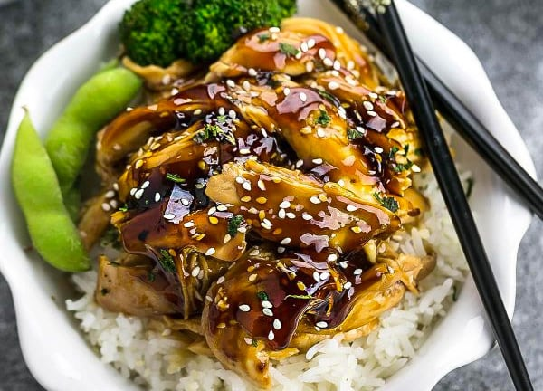 Chicken Teriyaki With Breast Meat