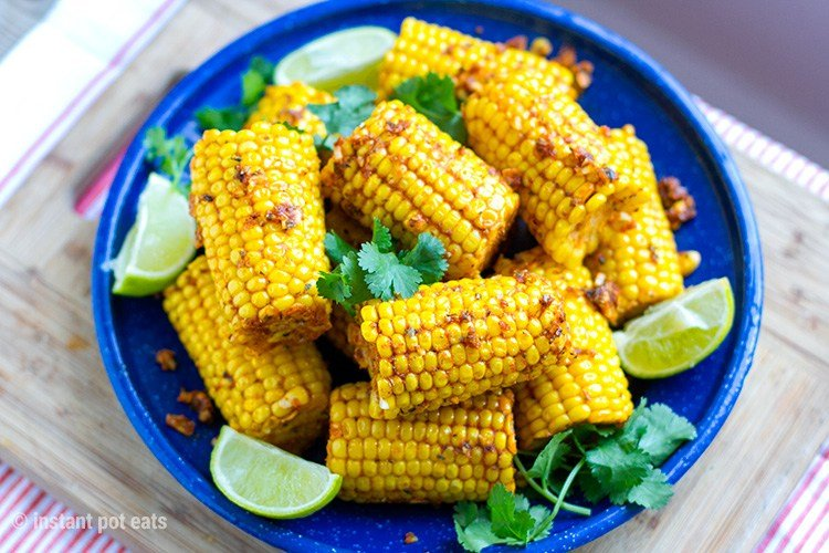 Instant Pot Corn On the Cob With Cajun Butter