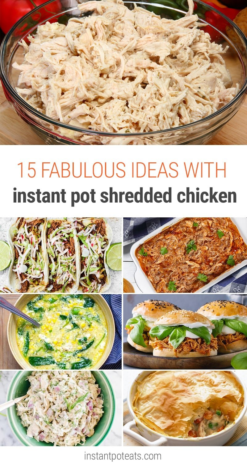 15 Fabulous Meal Ideas With Instant Pot Shredded Chicken