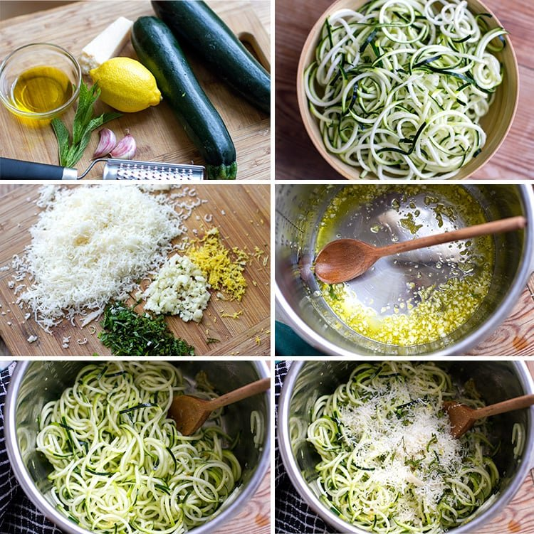 Making Zucchini Noodles In The Instant Pot (Zoodles)