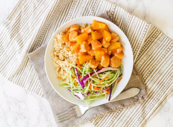 Sweet & Sour Pineapple Instant Pot Chicken