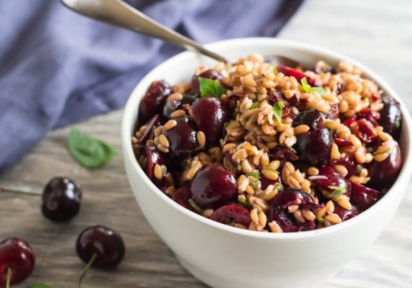 Instant Pot Cherry & Farro Salad