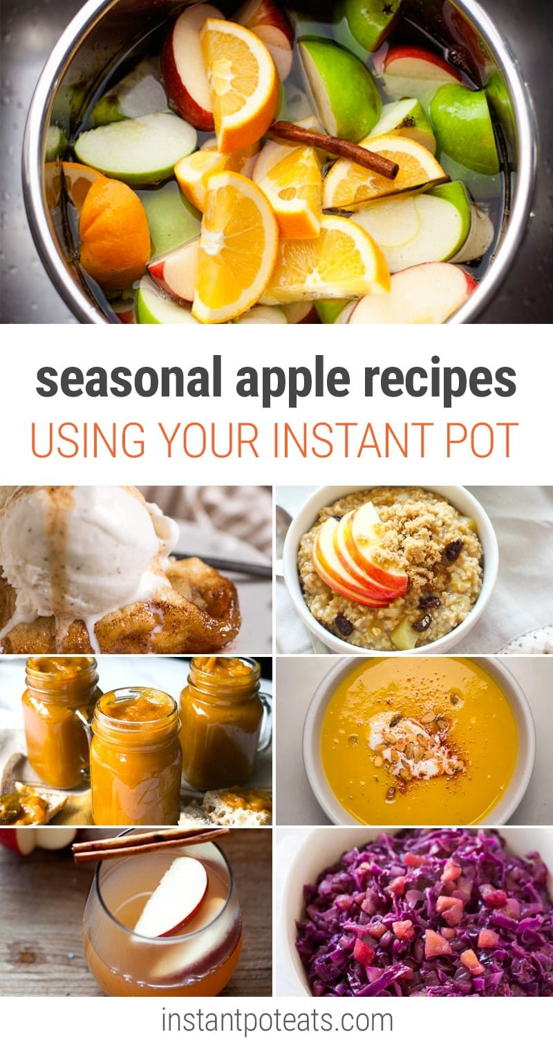 15 Seasonal Delicious Apple Recipes Using Your Instant Pot Pressure Cooker