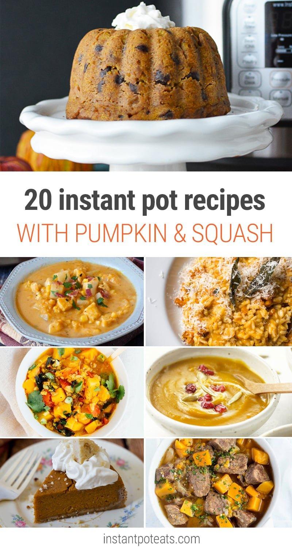Instant Pot Pumpkin & Winter Squash Recipes