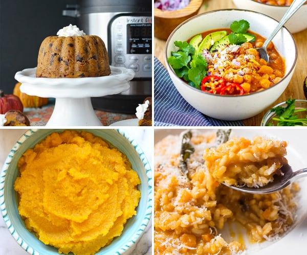 Instant Pot Pumpkin Squash Recipes