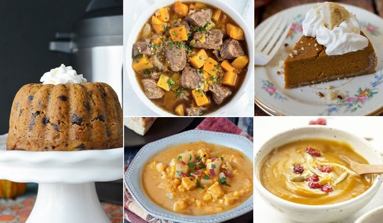 20 Instant Pot Pressure Cooker Recipes with Pumpkin & Winter Squash