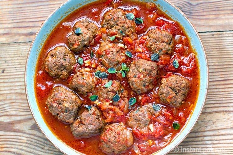Italian Tomato Meatballs (Whole30, Paleo, Gluten-Free)