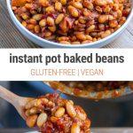 Instant Pot Baked Beans (vegan, GF)